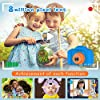 Seckton Upgrade Kids Selfie Camera, Christmas Birthday Gifts for Boys Age 3-9, HD Digital Video Cameras for Toddler, Portable Toy for 3 4 5 6 7 8 Year Old Boy with 32GB SD Card-Navy Blue #4