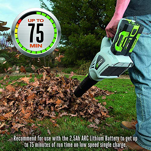 EGO Power+ LB4800 480 CFM 3-Speed Turbo 56-Volt Lithium-Ion Cordless Electric Blower - Battery and Charger Not Included
