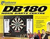 Unicorn Darts Db180 - Tablero de competición con Diana, Marcador y 2 Juegos de Dardos