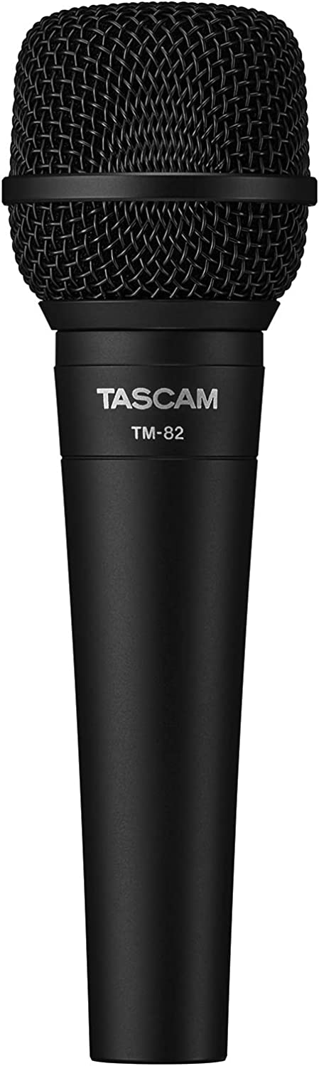 Louisville-Jefferson Max 71% OFF County Mall Tascam Vocal and Instrument Dynamic TM-82 Microphone
