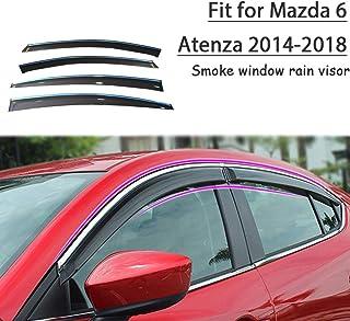 6/Pezzi Affumicato /2017/frangivento Set Autoclover Mazda CX-5/2011/
