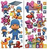 pegatinas de pared pocoyo para dormitorio niños y niñas mural de la pared etiqueta engomada del papel pintado de pared para Nursery wall art playrooms