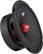 "DS18 PRO-GM6B Loudspeaker – 6.5"", Midrange, Red Aluminum Bullet, 480W Max,.."
