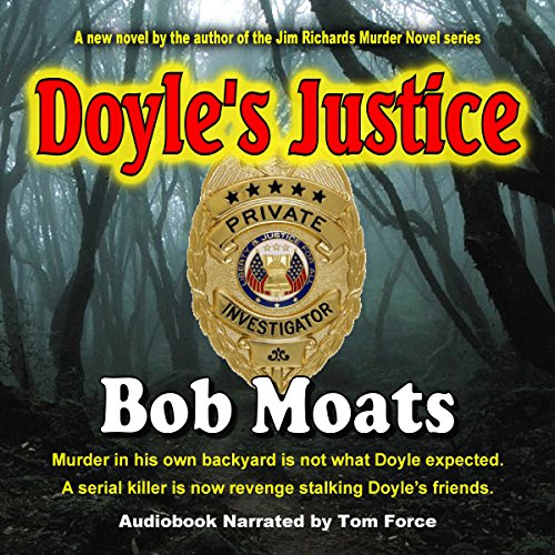 Doyle's Justice audiobook cover art