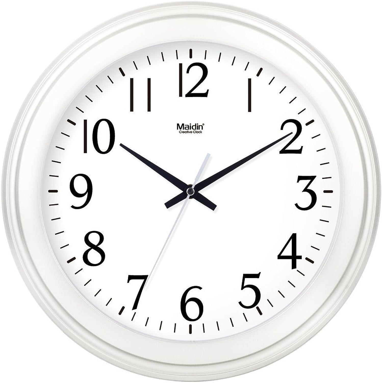 100% precio garantizado Reloj de parojo Sin marcar Número Número Número Cuarzo Reloj de parojo Sala de estar Decorativo Reloj interior Dormitorio Reloj de cocina Mesa rojoonda Silencioso Reloj de cuarzo electrónico Calendario16 En Cristal Lí  precio razonable