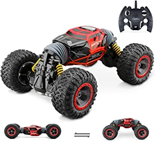Jasonwell 1:14 RC Car Remote Control Cars for Kids 4WD Off Road Vehicle Rock Crawler 2.4Ghz Rechargeable Monster Truck Dual Motors Buggy Hobby Racing Car Toys Gifts Boys Girls 6 7 8 9 10 12 Year Old