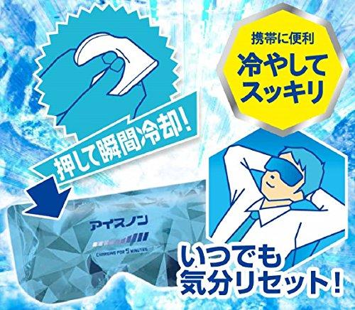 【ドライブ・仕事の間の眠気覚ましに!】アイスノン急速COOLアイマスク