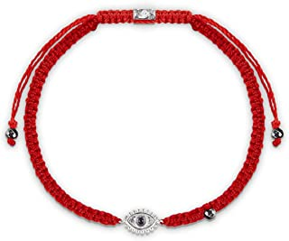 Karma and Luck - Beat Anxiety Red String Amethyst Stone Bracelet