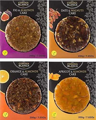 Panes De Frutas 200g Pack (Higo,Dátil, Naranja, Albaricoque
