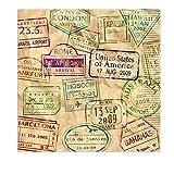 Beistle Around The World Luncheon Napkins   Travel, International & World Theme Party Supplies (48 Count)