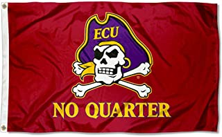 College Flags and Banners Co. East Carolina Pirates No Quarter Flag