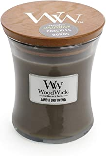 WoodWick Sand and Driftwood Mini Scented Candle