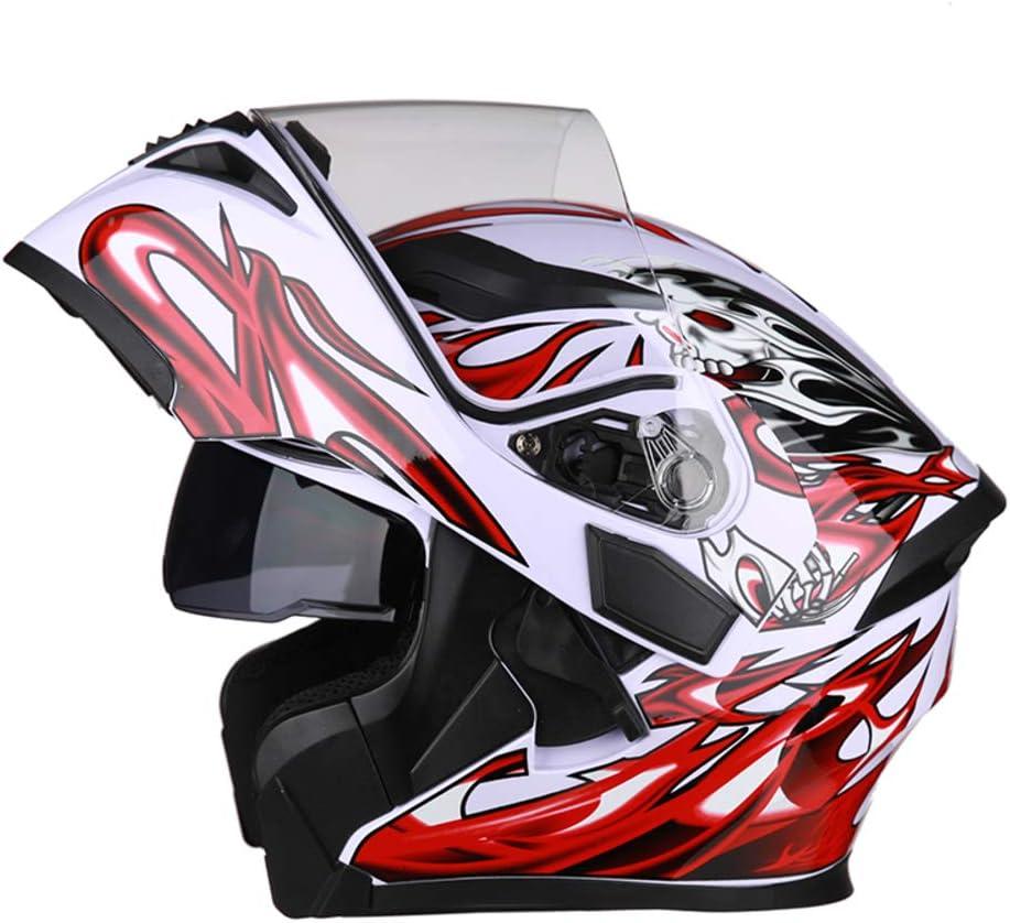 Modular Motorcycle Helmet,Flip Up Motorbike Bluetooth Helmet Men And Women Bike Motorbike Helmet