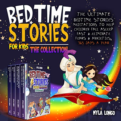 Couverture de Bedtime Stories for Kids: The Collection