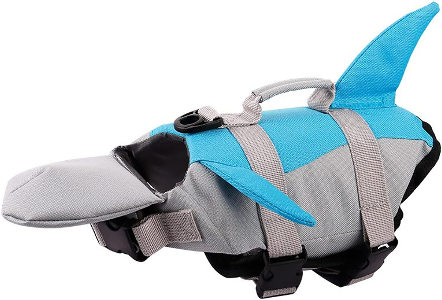 PETCEE Hunting Dog Life Jacket Quick Release EasyFit Adjustable Life Jackets for Small Dogs (bluee, S)
