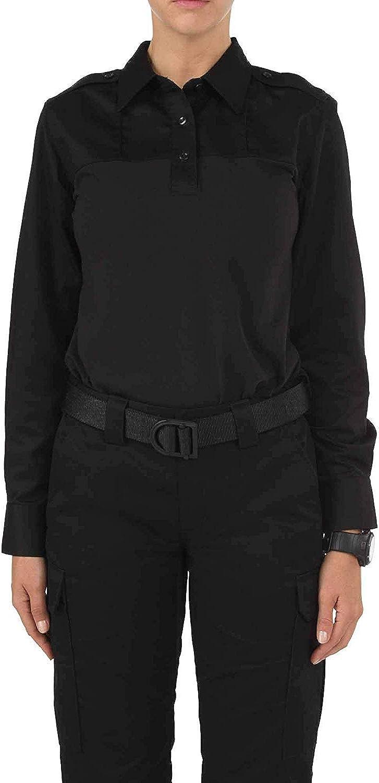 5.11 Tactical Women's Rapid PDU Long Sleeve Shirt, Dual Fabric Construction, Quick Dry