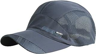 AIEOE - Gorra para Sol Verano de Deporte para Hombre Gorras Mujer Golf Transpirables de Malla Absorbe Sudor Sombrero Secad...