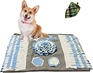 """Acylulu Durable Snuffle Mat, Large Feeding Mat for Dogs (23.6"""" x 31.5""""), Interactive Puzzle Toys"""