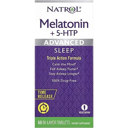 Amazon.com : Natrol Melatonin Advanced Sleep Tablets with ...