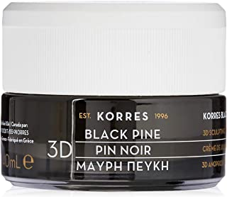 Korres Black Pine 3D Sculpting Firming & Lifting Day Cream Normal - Combination Skin by Korres for Unisex - 1.35 oz Cream, 40.5 milliliters