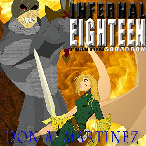 Infernal Eighteen audiobook cover art