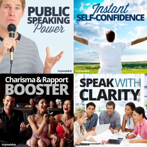 Amazing Public Speaking Hypnosis Bundle cover art