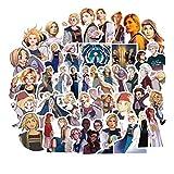 Doctor Who Tardis Stickers Set Anime Stickers Many Laptop Bike Phone Guitar Cartoon Stickers Pack 50Pcs