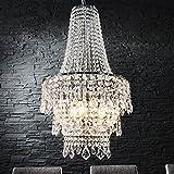 LAMPADARIO LUSSO 'SANSSOUCI' | trasparente, acrilico, 70 cm | Ø 40 cm