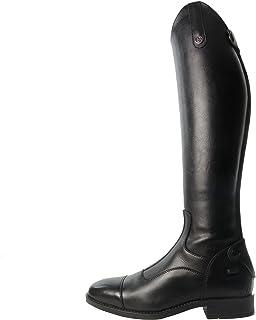 Brogini New Casperia Long Riding Boots UK 4.5 Wide Black