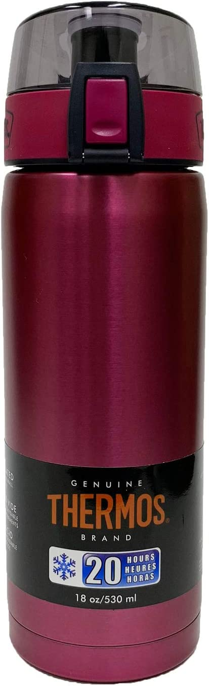 Thermos 18-Ounce Stainless Translated Steel Bott Manufacturer regenerated product Vacuum Insulated Hydration