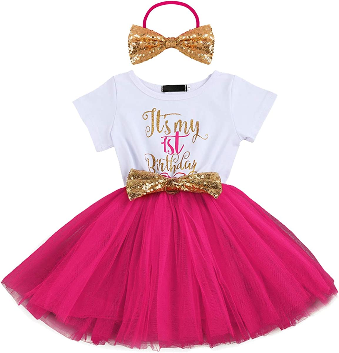 Fast shipping!Princess Tutu Birthday Tutu white and Gold Handmade with Bow Pink