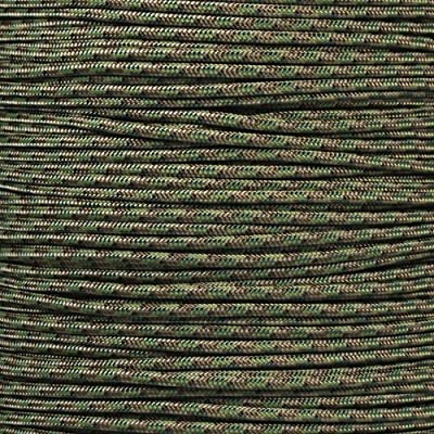 PARACORD PLANET Tactical 5-Strand Nylon Core 275-LB Tensile Strength Paracord Rope 3/32 Inch (2.38mm Diameter) (Multi Camo, 100 Feet)