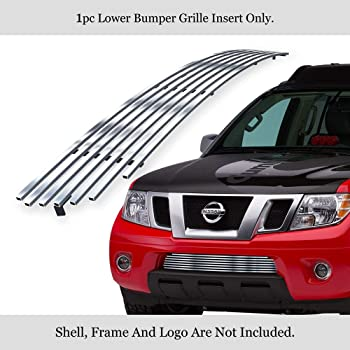 amazon com aps compatible with 2009 2020 frontier stainless mesh grille insert n76641t automotive aps compatible with 2009 2020 frontier