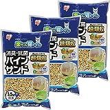 アイリスオーヤマ 楽ちん猫トイレ 消臭・抗菌 パインサンド 3.5kg×3袋入 (ケース販売) RCT-35