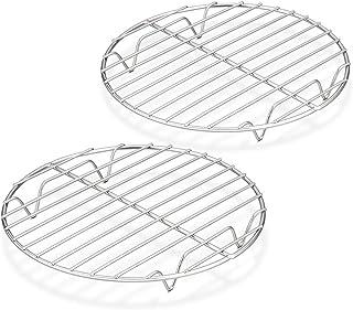 Acero Inoxidable Gris 32 x 32 x 2 cm Equinox Rejilla para Tartas