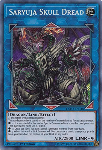 Saryuja Skull Dread - EXFO-EN048 - Secret Rare - 1st Edition - Extreme Force (1st Edition)