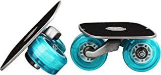 Portable Roller Road Drift Board Skates Anti-slip Plate Aluminum Truck Blue Wheel with Flash Light With PU Wheels With ABEC-7 608 Bearings