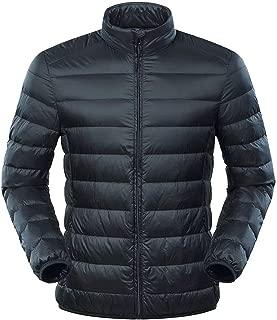Down Jacket Men's Large Size Ultra Light Down Jacket Men Duck Down Windbreaker Feather Coats