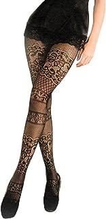 Yelete Killer Legs Women's One/Plus Size Patterned Fishnet Tights Stocking Pantyhose