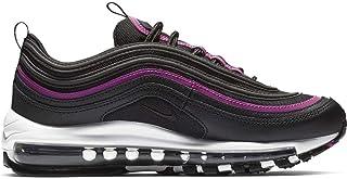 2a167880f7 Nike Chaussures de Sport pour Femmes W AIR Max 97 LX en Tissu Noir et  Fuchsia