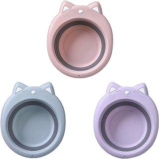 BECCYYLY Seau Pliant Produit extérieur bébé Pliant lavabo Portable Ultra léger de Nettoyage Plastique lavabo for Voyager e...
