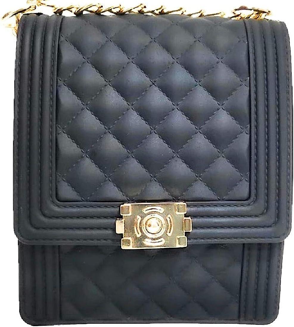 Jelly shoulder colorful PVC Purse Tote Matte Shoulder handbag