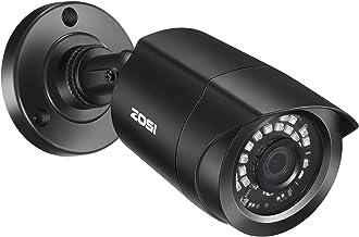 ZOSI 1.0 Megapixel HD 720P 4 in 1 TVI/CVI/AHD/CVBS Security Cameras Day Night Waterproof Camera 65ft IR Distance,Compatibl...
