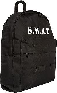 Kids SWAT Backpack, 15 ltr, Black Swat Logo, Unique Quality Item,