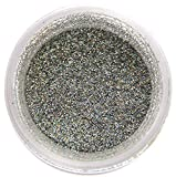 Silver Hologram Glitter Dust 5 gram container. Holographic Decoration Dust for Cakes. Brillantina Plata-Holograma Sunflower Sugar Art