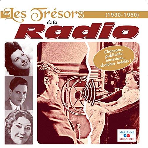 Publicités radiophoniques: Brillantine Forvil / Sirop Vert-Cadet / La Quitonine / Crème Diadermine...