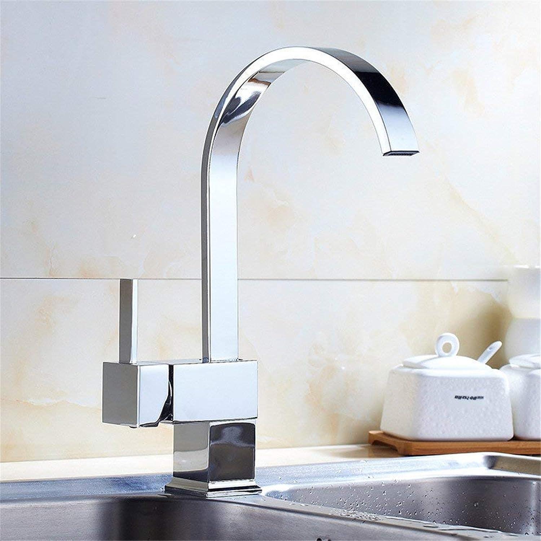 Oudan The Whole Kitchen Faucet Copper Kitchen Sink Faucet redation Hole Kitchen (color   -, Size   -)