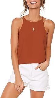 eae1dae66db Amazon.com: Oranges - Tanks & Camis / Tops, Tees & Blouses: Clothing ...