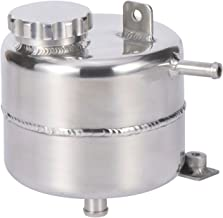 Aluminium Radiator Coolant Water Overflow Expansion Tank Reservoir for Mini Cooper S R52 R53 (Polished)