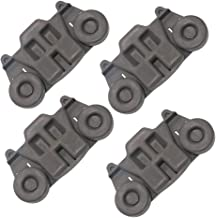 W10195416 Dishwasher Wheels Lower Rack By AMI,Compatible with Kenmore,Kitchen Aid,Maytag,To Be Able To Replace B00LGUB7UU,W10195416V,PS11722152,W10195416VP,B01BR493DW,AH3406971(4 pcs)